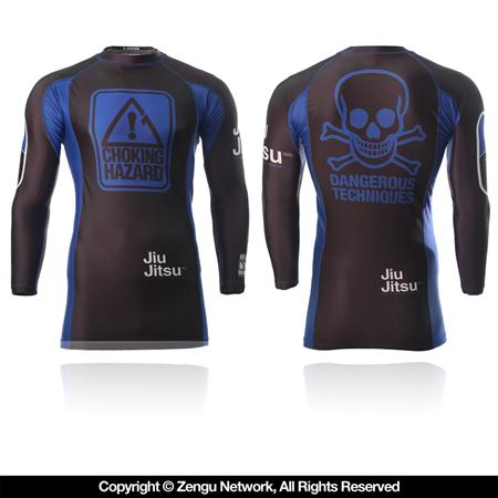 93 Brand x Meerkatsu Choking Hazard Ranked BJJ Rashguards